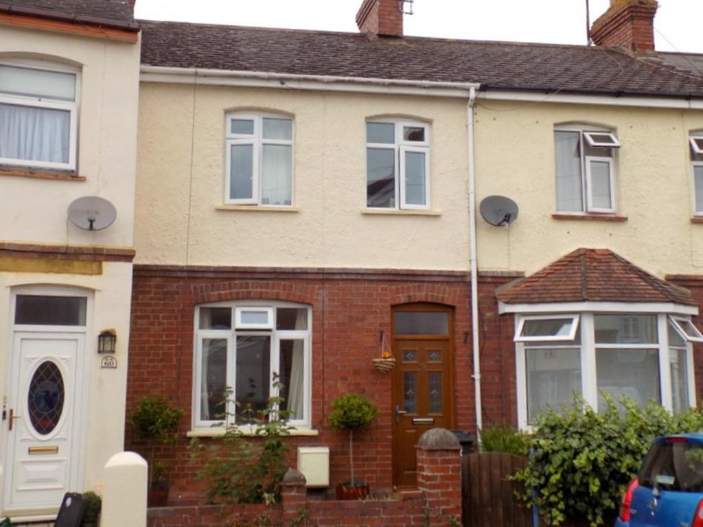 2 Bedrooms Terraced House for sale in Woodville Road, Exmouth
