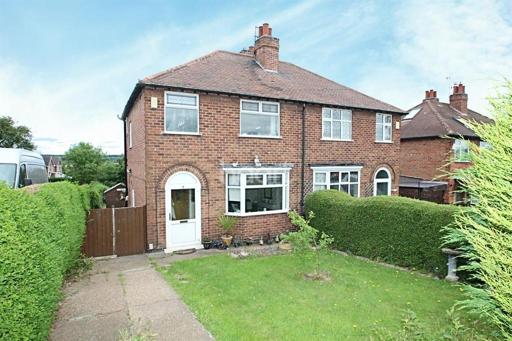 3 Bedrooms Semi Detached House for sale in Rolleston Drive, Arnold, Nottingham