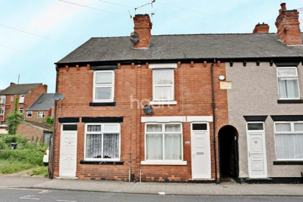2 Bedrooms Terraced House for sale in Ogle Street, Hucknall
