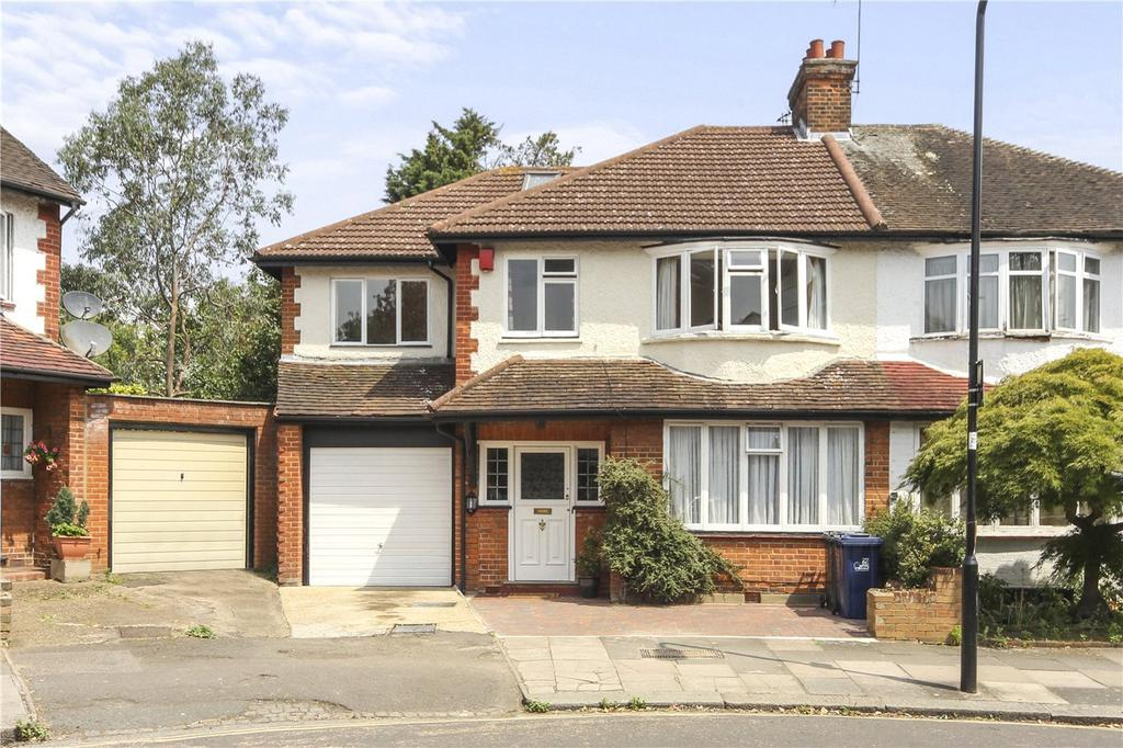 5 Bedrooms Semi Detached House for sale in Gunnersbury Crescent, London, W3
