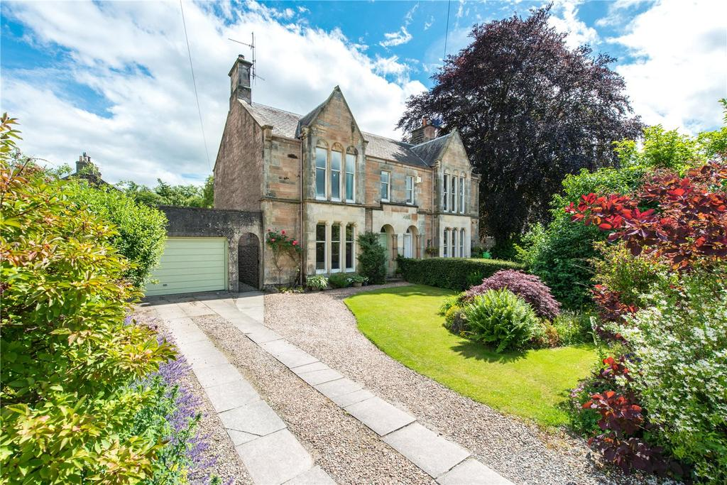 4 Bedrooms Semi Detached House for sale in Rosemount Place, Perth, Perthshire