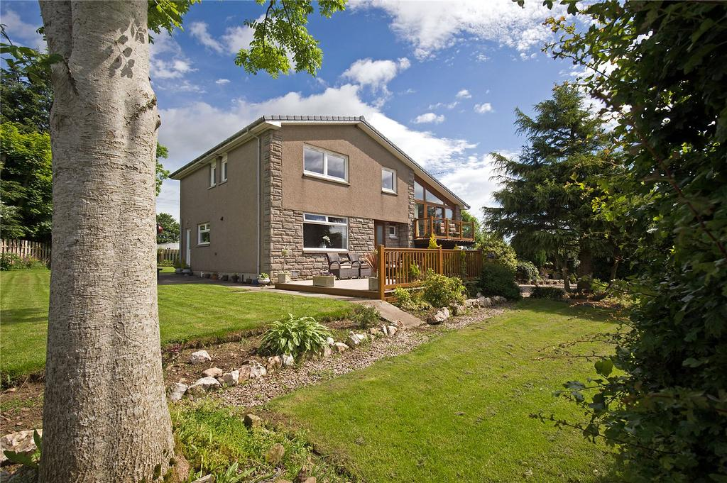 4 Bedrooms Detached House for sale in Overton Lodge, Methlick, Ellon, Aberdeenshire