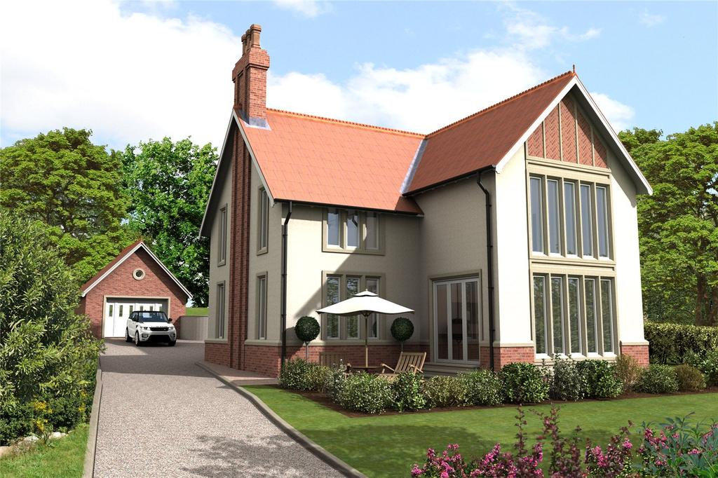 5 Bedrooms Detached House for sale in Bilton Hill, Alnwick, Northumberland