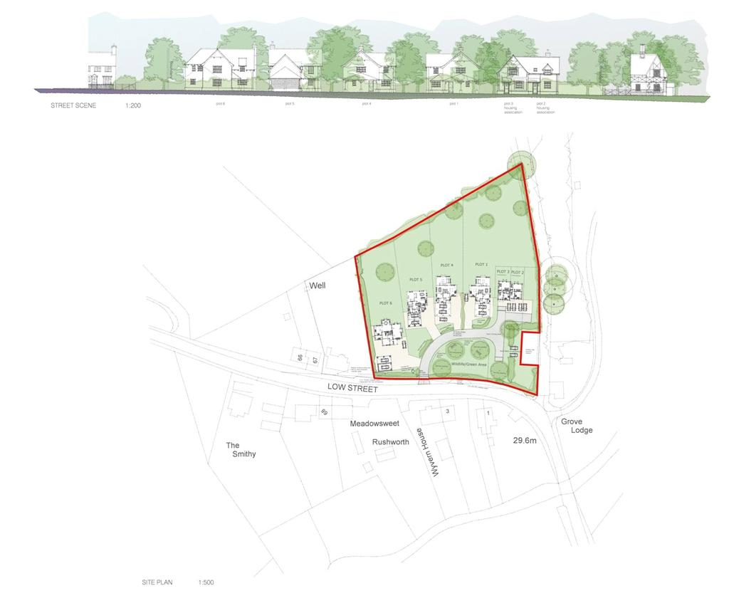 Land Commercial for sale in Low Street, Hardingham, Norwich