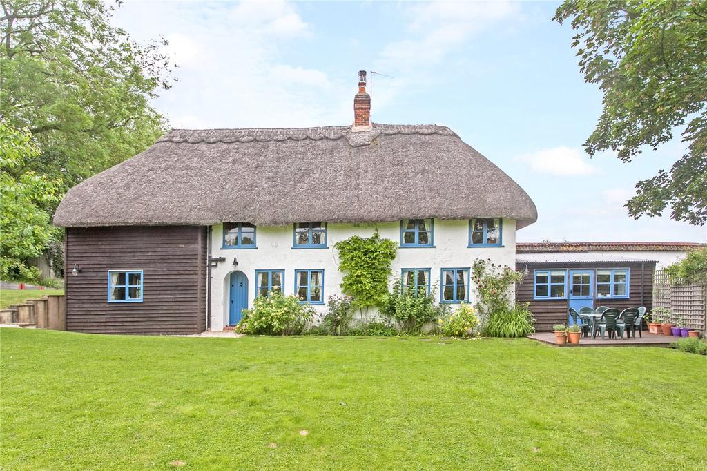 4 Bedrooms Detached House for sale in East Cholderton, Andover, Hampshire, SP11