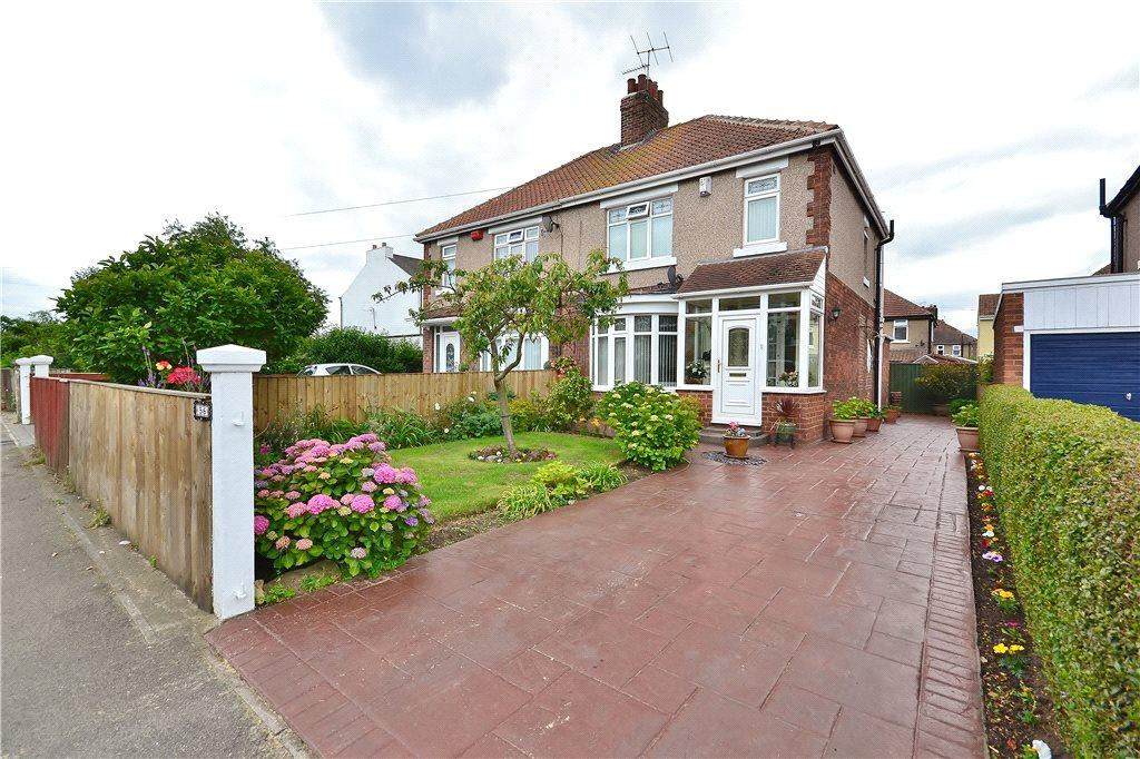 3 Bedrooms Semi Detached House for sale in Station Road, Norton, Stockton-On-Tees