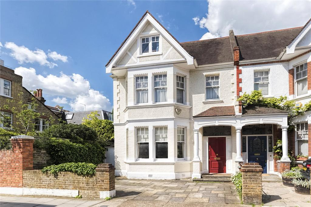6 Bedrooms End Of Terrace House for sale in Napier Avenue, Hurlingham, Fulham, SW6