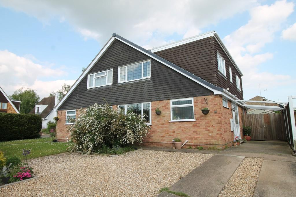 3 Bedrooms Semi Detached House for sale in Obelisk Rise, Northampton