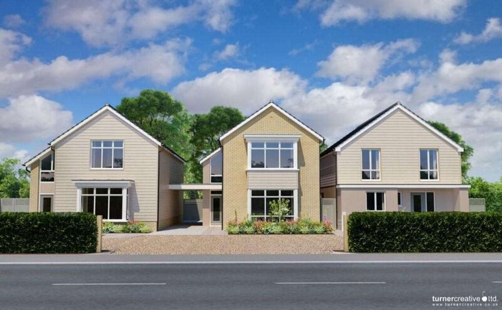 3 Bedrooms Detached House for sale in Colchester Road, West Bergholt
