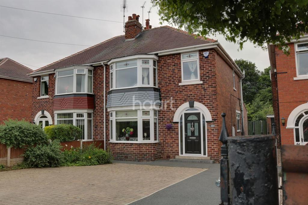 3 Bedrooms Semi Detached House for sale in Cusworth Lane Doncaster