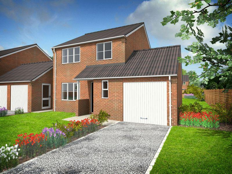 3 Bedrooms Detached House for sale in Cumberland Way, Scampton, Lincoln
