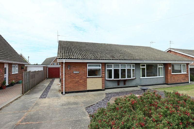 2 Bedrooms Semi Detached Bungalow for sale in Robin Hill, Lowestoft