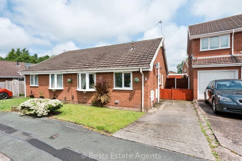 2 Bedrooms Semi Detached Bungalow for sale in Starling Close, Runcorn