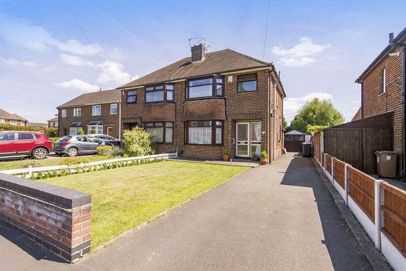 3 Bedrooms Semi Detached House for sale in VICARAGE ROAD, CHELLASTON