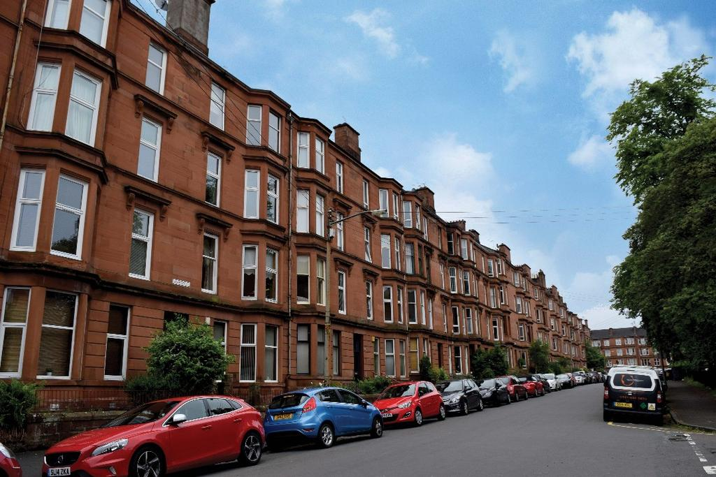 2 Bedrooms Flat for sale in Waverley Street , Flat 2/1, Shawlands, Glasgow, G41 2DZ