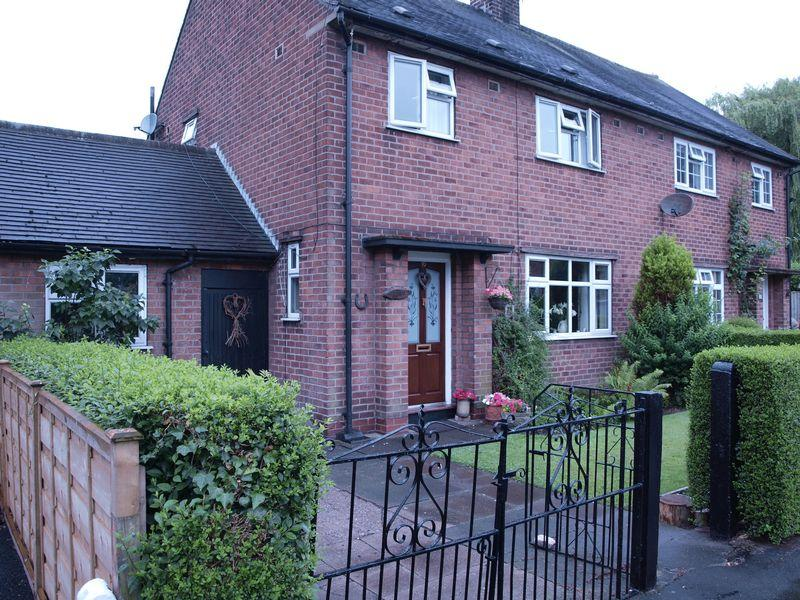 3 Bedrooms Semi Detached House for sale in Hield Grove, Aston-By-Budworth, Cw9 6LN