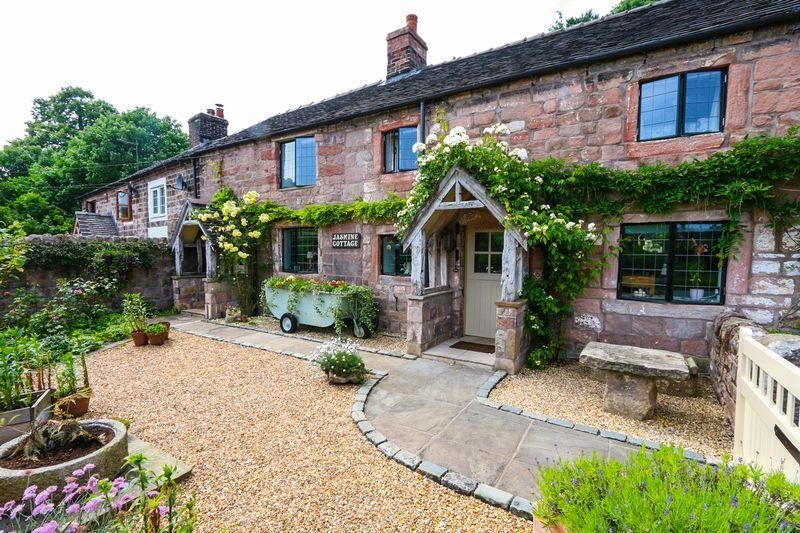 3 Bedrooms Semi Detached House for sale in Dunwood Lane, Rudyard