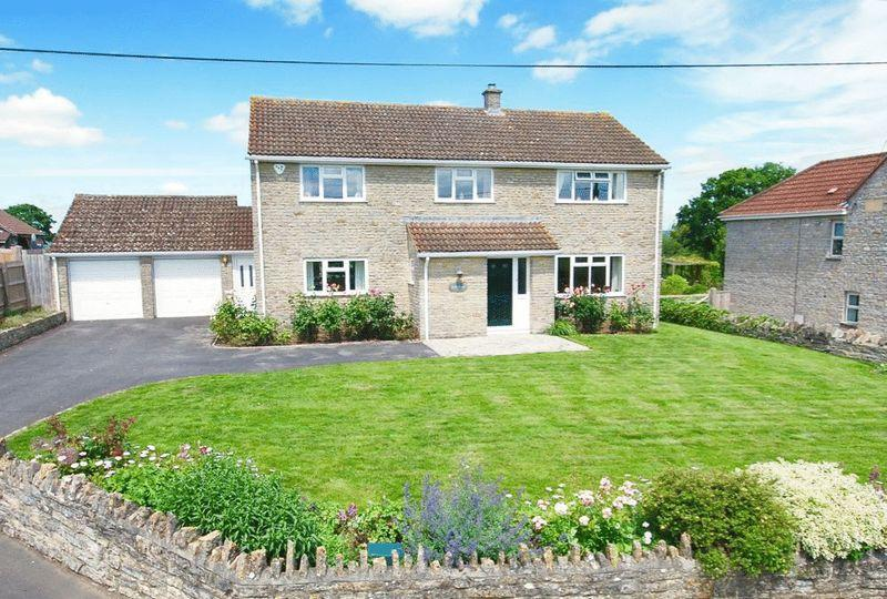 4 Bedrooms Detached House for sale in Barton St David - Between Glastonbury and Castle Cary