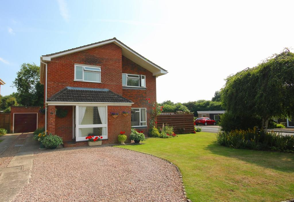 4 Bedrooms Detached House for sale in Shepherds Close, Ledbury, HR8