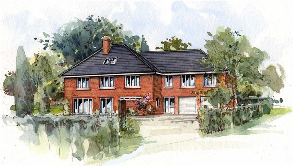 6 Bedrooms Detached House for sale in Sherlands Heights, Stonegallows, Taunton, Somerset, TA1