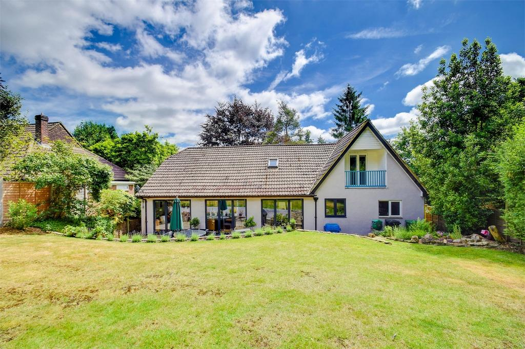 4 Bedrooms Detached House for sale in Birchwood, Beech Hill,, Headley Down, Hampshire