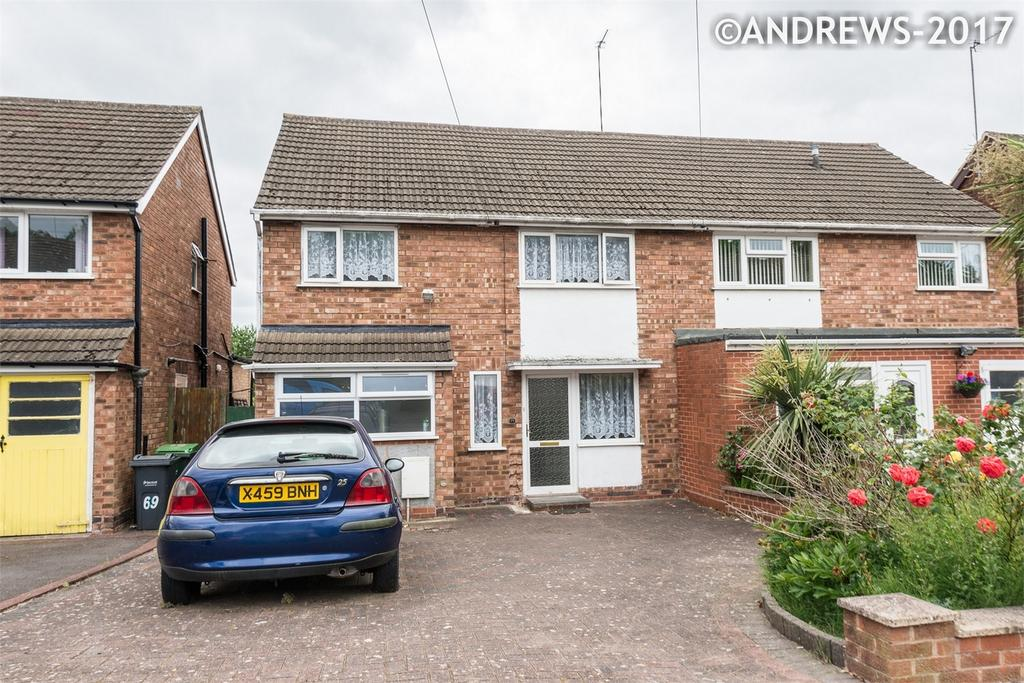3 Bedrooms Semi Detached House for sale in Stanton Road, Great Barr, BIRMINGHAM