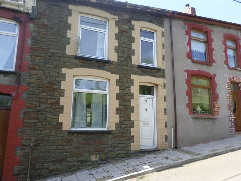 2 Bedrooms Terraced House for sale in Troedyrhiw Road, Mount Pleasant, Porth