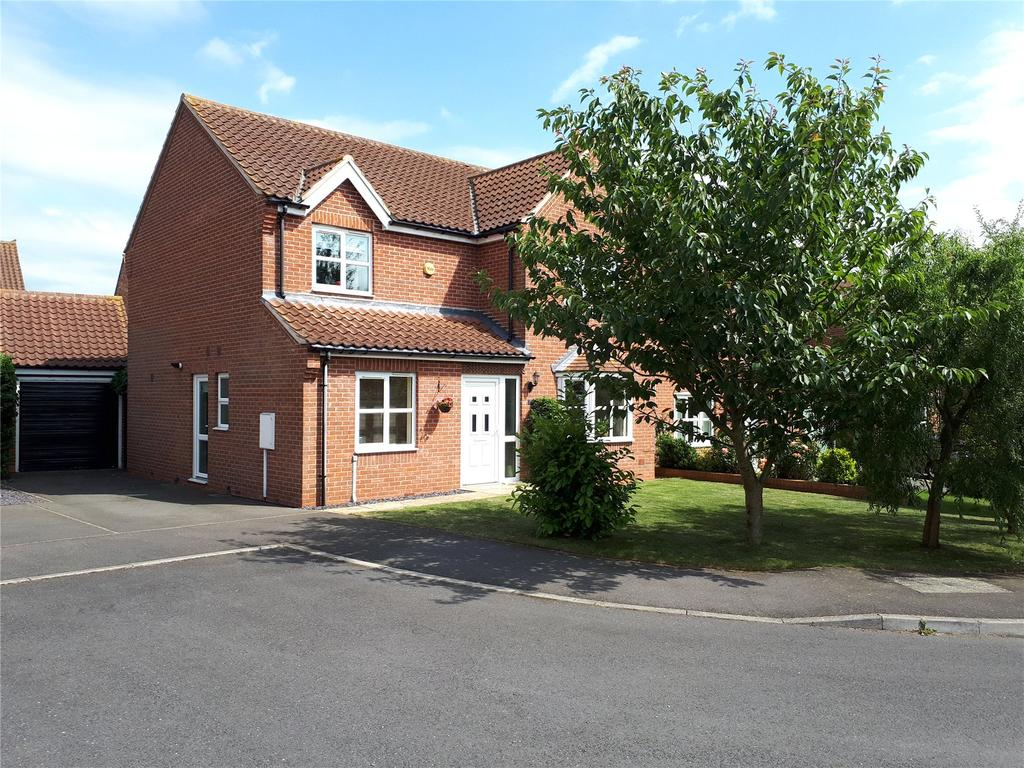4 Bedrooms Detached House for sale in Highfield Mews, Great Gonerby, NG31