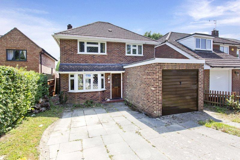 3 Bedrooms Detached House for sale in Ridgeway, Edenbridge, Kent