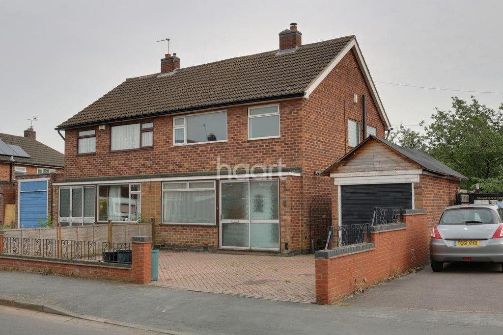 3 Bedrooms Semi Detached House for sale in Cromwell Road, Mountsorrel
