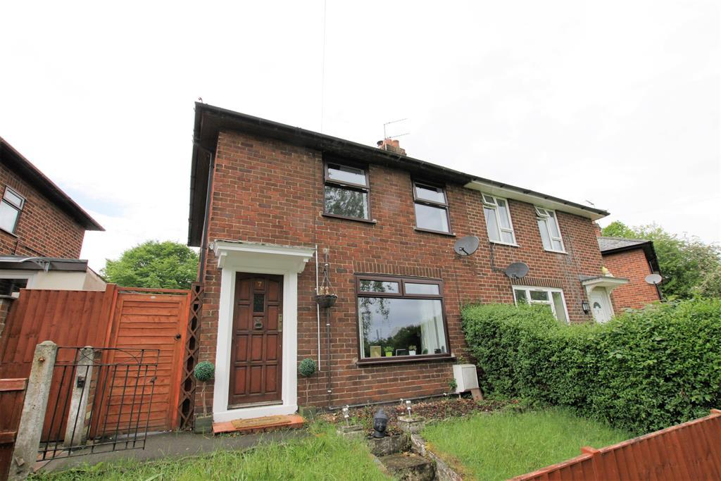 2 Bedrooms Semi Detached House for sale in Bron Y Dre, Wrexham, LL13 7RW