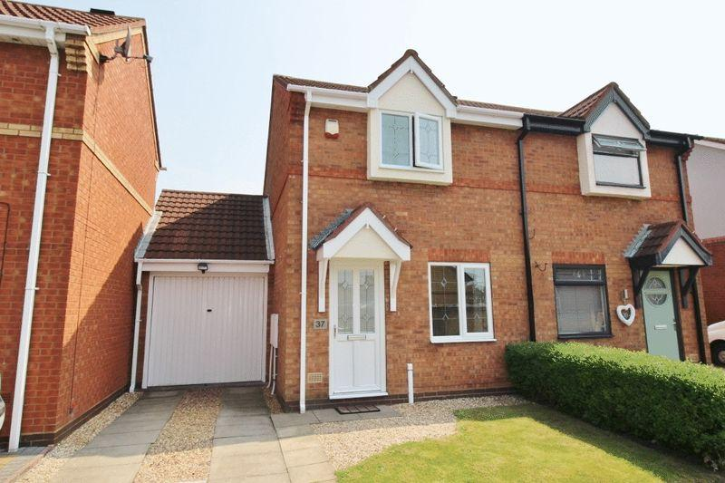 2 Bedrooms Semi Detached House for sale in Honeybourne Way, Kingfisher Estate, Willenhall