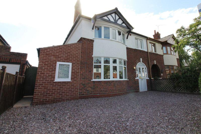 3 Bedrooms Semi Detached House for sale in Lache Park Avenue, Chester
