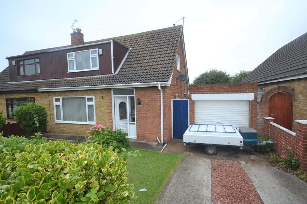 3 Bedrooms Semi Detached Bungalow for sale in Mordales Drive, Marske TS11