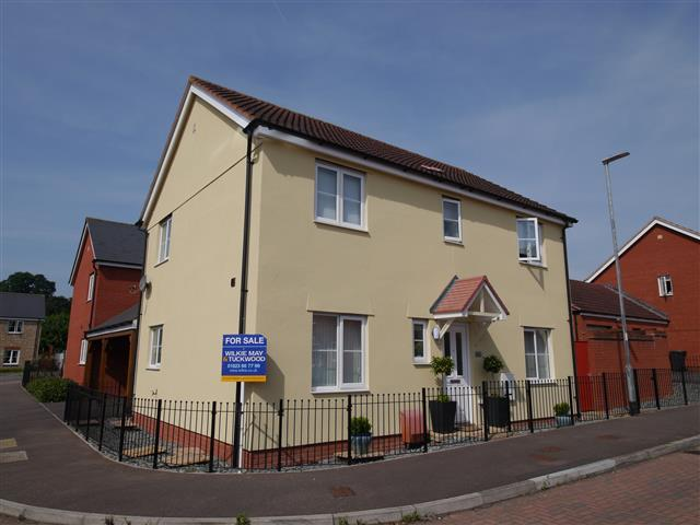 4 Bedrooms Detached House for sale in Russet Close, Wellington TA21
