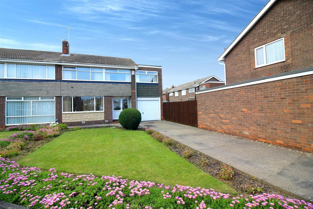 5 Bedrooms Semi Detached House for sale in Arcot Drive, Whitley Bay