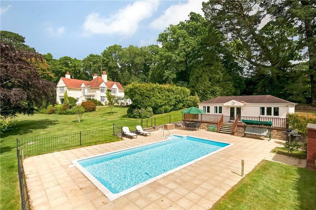 5 Bedrooms Detached House for sale in Shobley, Ringwood, Hampshire, BH24