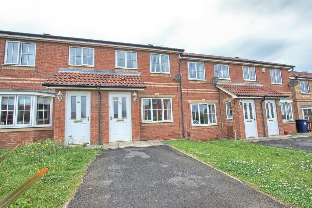 2 Bedrooms Terraced House for sale in Cranbourne Drive, Redcar