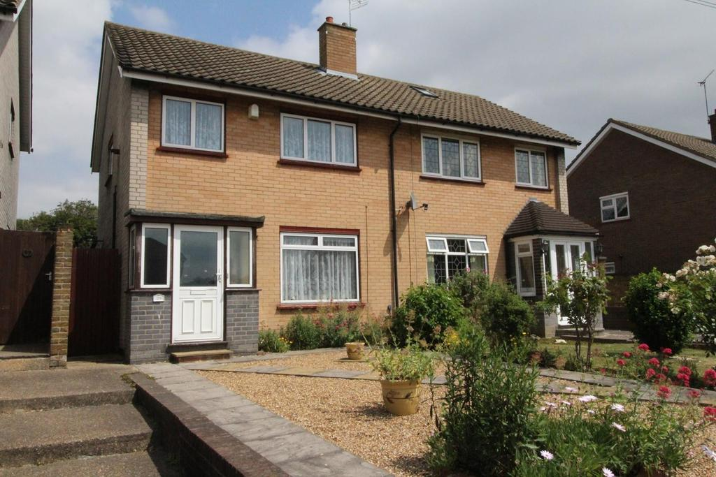 2 Bedrooms Semi Detached House for sale in Roseberry Gardens, Upminster, Essex, RM14