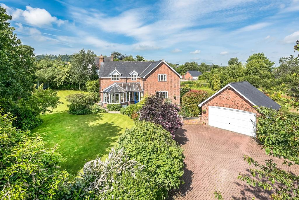 4 Bedrooms Detached House for sale in Knighton Road, Clun, Craven Arms, Shropshire