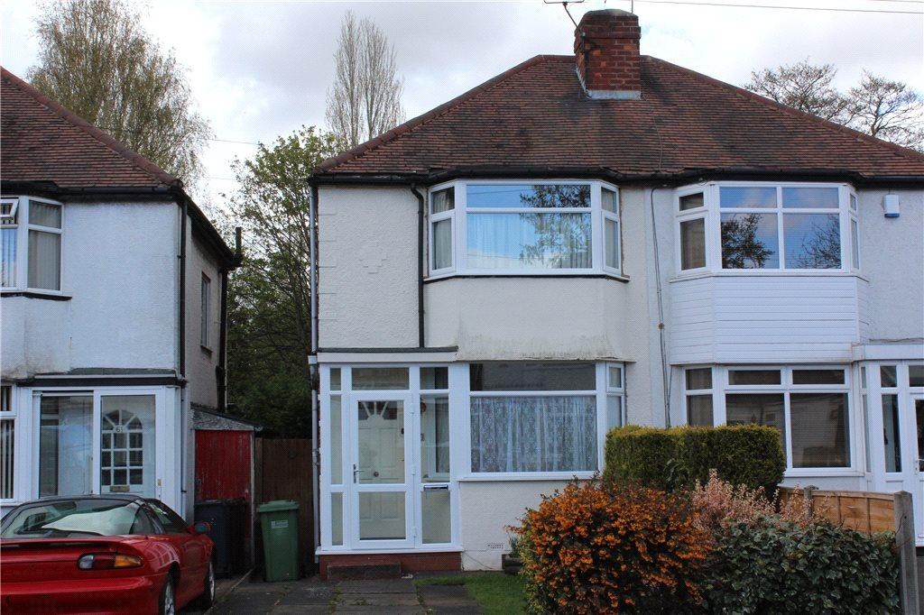 2 Bedrooms Semi Detached House for sale in Summerfield Road, Solihull, West Midlands, B92