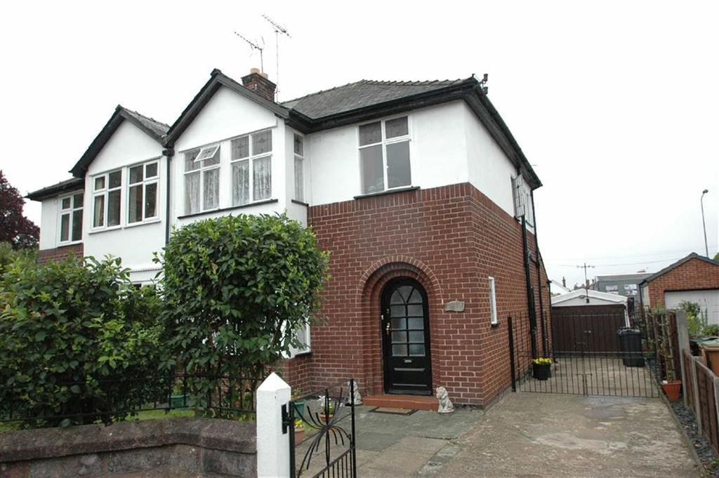 3 Bedrooms Semi Detached House for sale in Beechlands Avenue, Boughton, Chester