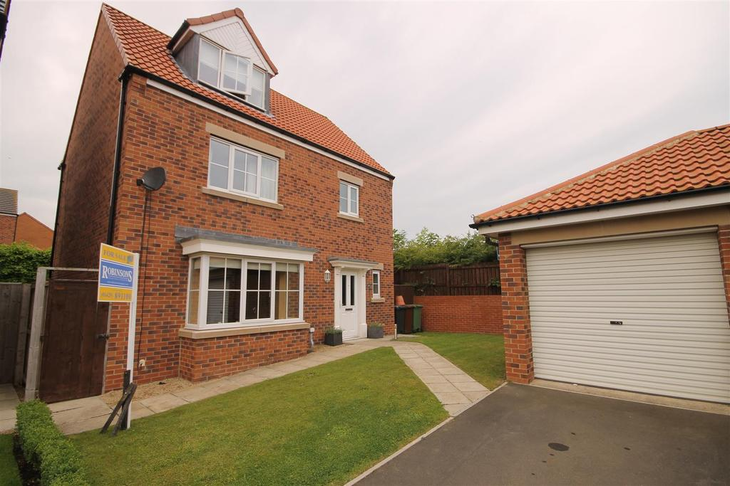 4 Bedrooms Detached House for sale in Silverbirch Road, Bishop Cuthbert, Hartlepool