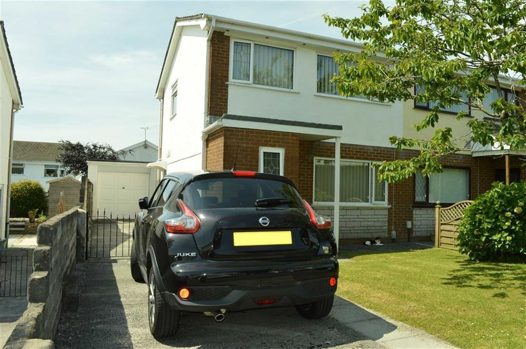 3 Bedrooms Semi Detached House for sale in Mabon Close, Swansea, SA4