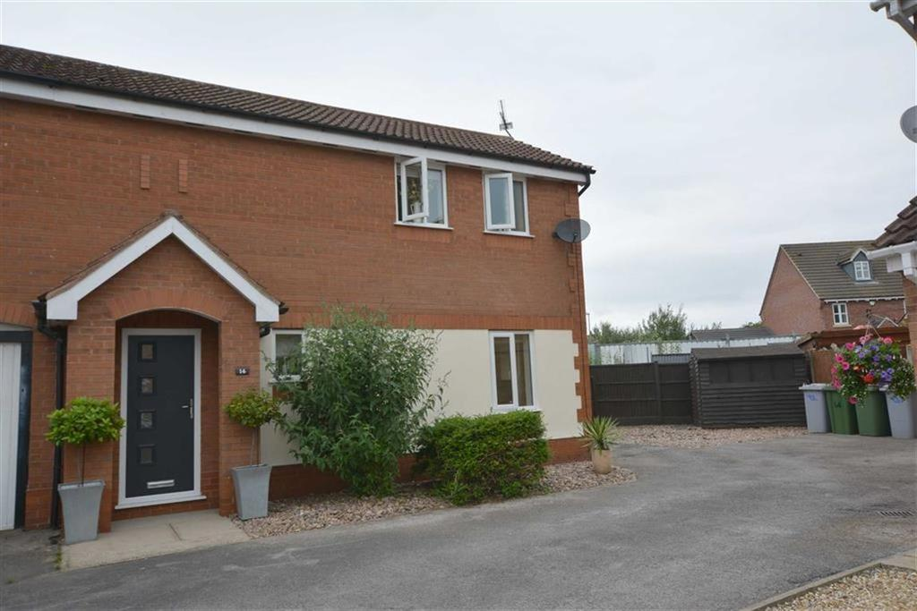 2 Bedrooms Town House for sale in Fern Close, Bilsthorpe, Nottinghamshire, NG22