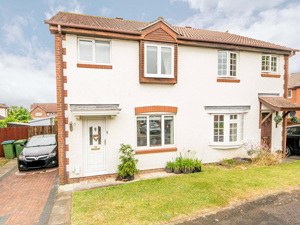 3 Bedrooms Semi Detached House for sale in Campion Close, Warsash, Southampton SO31