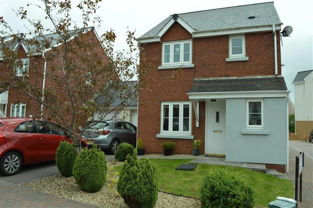 3 Bedrooms Link Detached House for sale in Heol Banc Y Felin, Gorseinon, Swansea, SA4