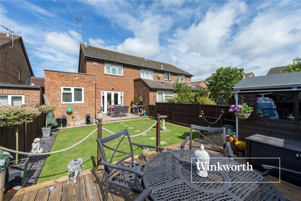 3 Bedrooms End Of Terrace House for sale in Sellwood Drive, Barnet, Herts, EN5