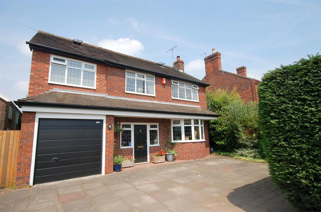 5 Bedrooms Detached House for sale in Crewe Road, Alsager