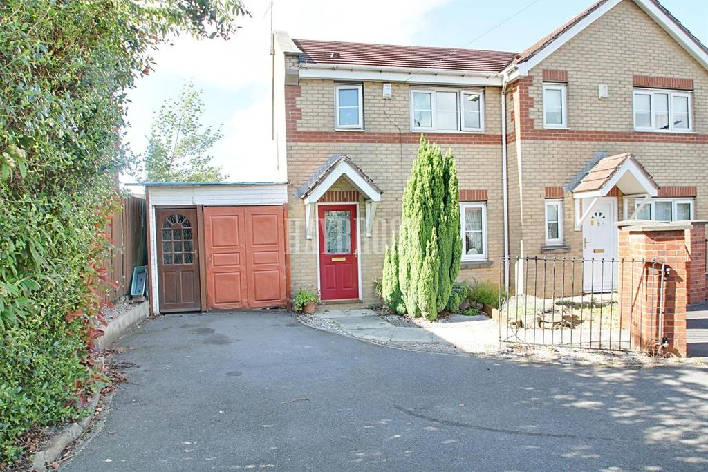 3 Bedrooms Semi Detached House for sale in Fretson Close, Parklands, S2